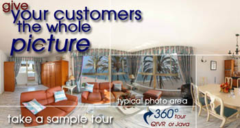 Give your customer the whole picture using Virtual Tours